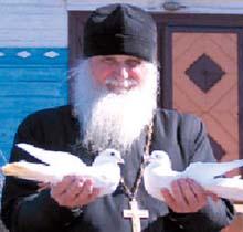 Священник и Голуби